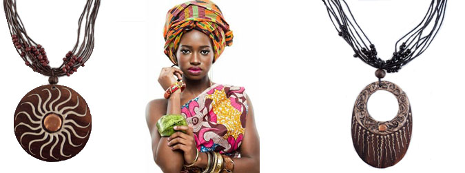 coliere hanmade afro